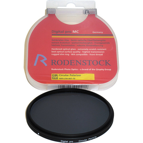 Rodenstock 62mm Circular Polarizer Digital pro MC Slim Filter