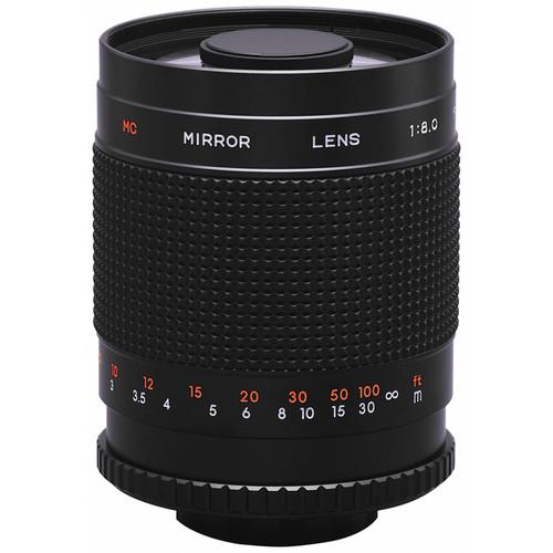 Rokinon 500mm f/8.0 Mirror T-Mount Lens
