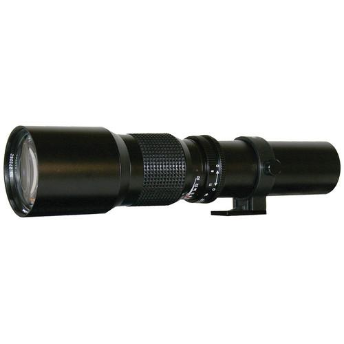 Rokinon 500mm f/8.0 Telephoto T-Mount Lens