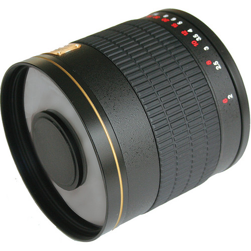 Rokinon 800mm f/8.0 Mirror T-Mount Lens (Black)