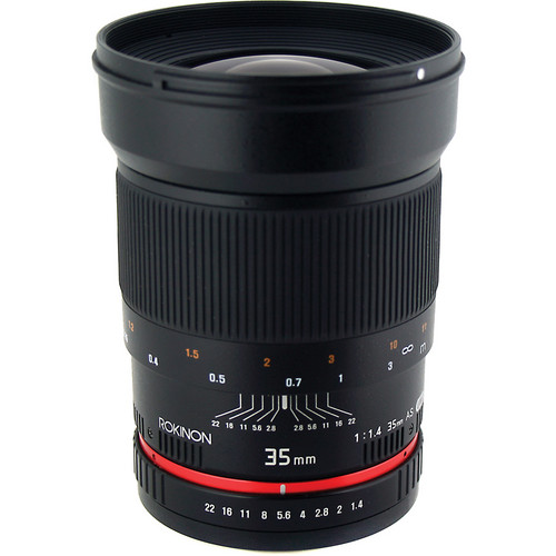 Rokinon 35mm f/1.4 Wide-Angle US UMC Aspherical Lens for Olympus 4/3