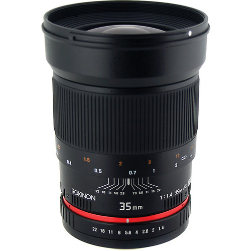 Rokinon 35mm f/1.4 AS UMC Lens for Pentax K