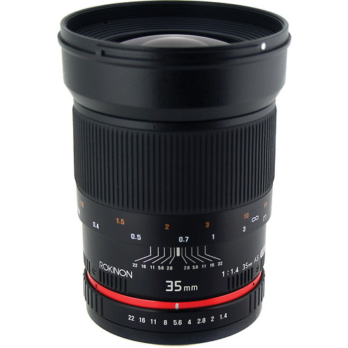 Rokinon 35mm f/1.4 AS UMC Lens for Sony A