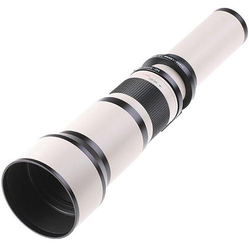 Samyang 650-1300mm f/8.0-16.0 Zoom Lens (White)