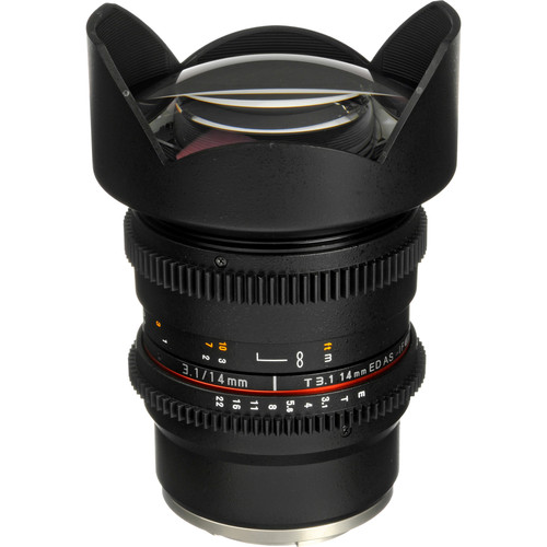 Rokinon 14mm T3.1 Cine ED AS IF UMC Lens for Sony E Mount