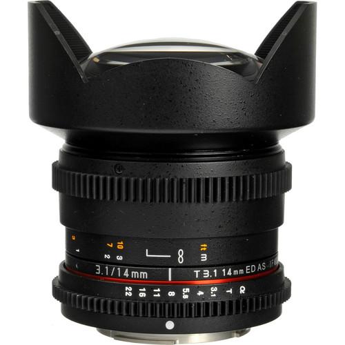 Rokinon 14mm T3.1 Cine ED AS IF UMC Lens for Sony A Mount