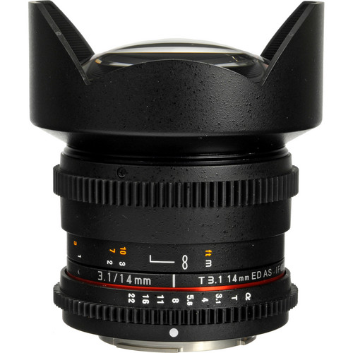 Rokinon 14mm T3.1 Cine ED AS IF UMC Lens for Sony A Mount