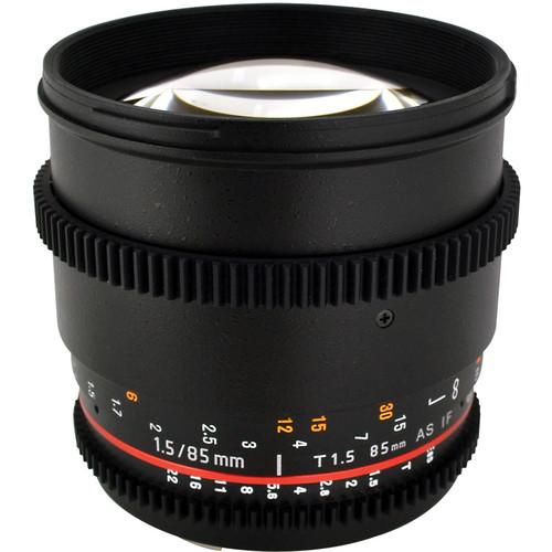 Rokinon 85mm T1.5 Cine Lens for Canon EF