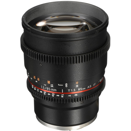 Rokinon 85mm T1.5 Cine Lens for Sony E