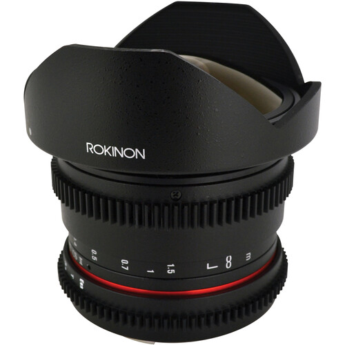 Rokinon 8mm T3.8 Cine UMC Fisheye CS II Lens for Nikon F Mount