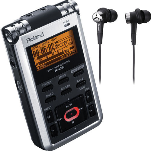 Roland 3D Audio Recording Pak with R-05, CS-10EM, and OP-R05S