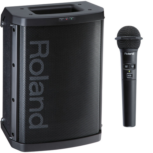 Roland BA-55 Battery Powered Portable Amplifier (Black)