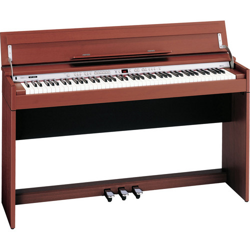 Roland DP-990 Designer 88-Key Digital Piano with Bench (Medium Cherry)