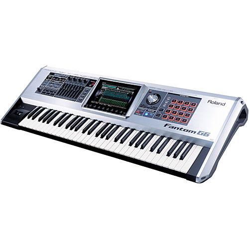 Roland Fantom-G6 61-Key Advanced Workstation Keyboard