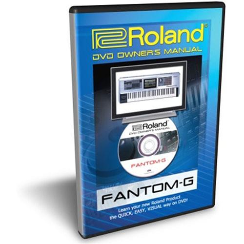 Roland DVD: Owner's Manual for Roland Fantom-G