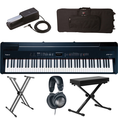 Roland Roland FP-7F Digital Piano Road Ready Kit (Black)