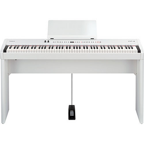 Roland FP-7F Digital Piano and Stand Bundle (White)