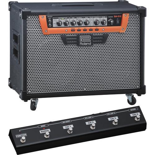 Roland GA-212 Guitar Amplifier with GA-FC GA Foot Controller