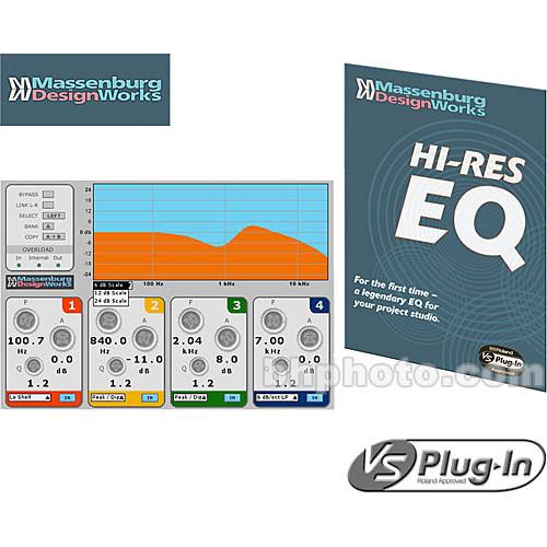 Roland Hi-Res EQ Equalizer Plug-In