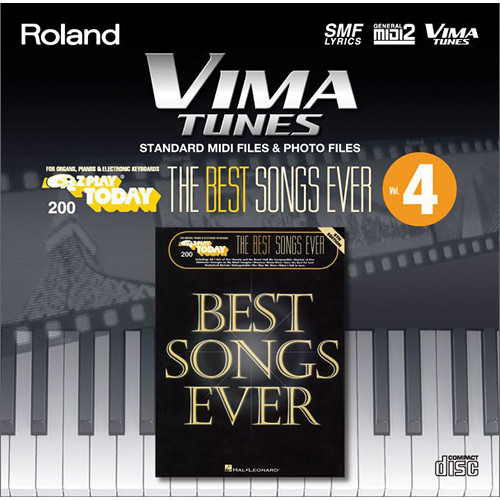 roland vima tunes the best songs ever vol 4 hl650687 b h