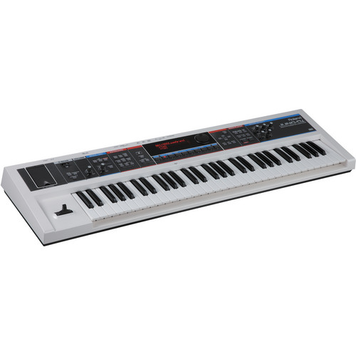 Roland JUNO-Di - 61-Key Mobile Synthesizer with Song Player - (White)