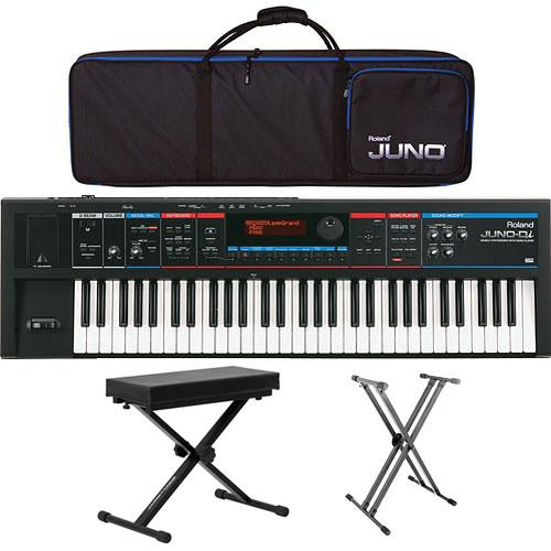 Roland JUNO-Di 61-Key Mobile Synthesizer Value Bundle