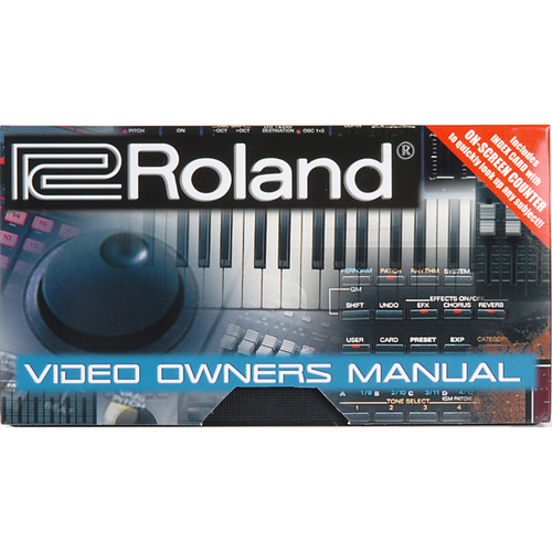 Roland MC-909VM - Video Owner's Manual for MC-909