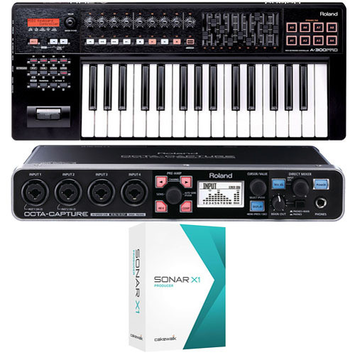 Roland Mobile Pak Pro - Mobile Music Production Bundle