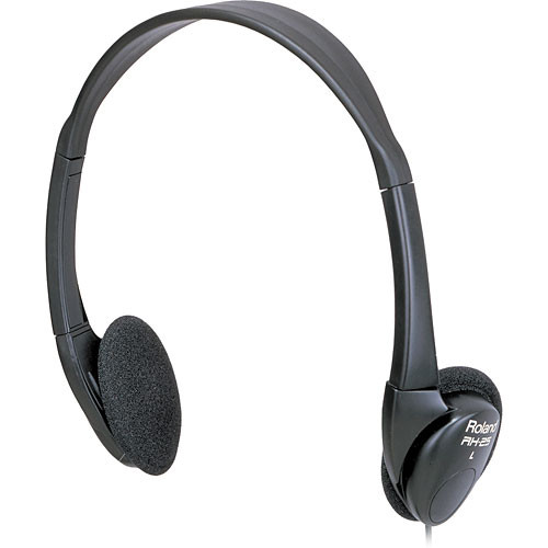Roland RH-25 - Lightweight Folding Portable Headphones