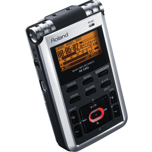 Roland R-05 Portable 24-bit Digital Audio Recorder