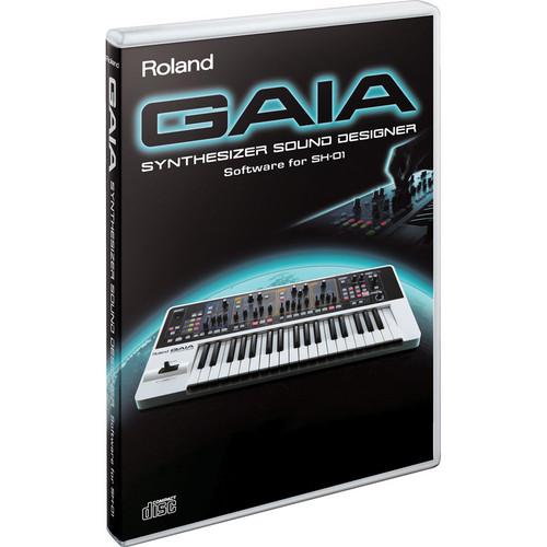 Roland SD-SH01 GAIA Synthesizer Sound Designer Software