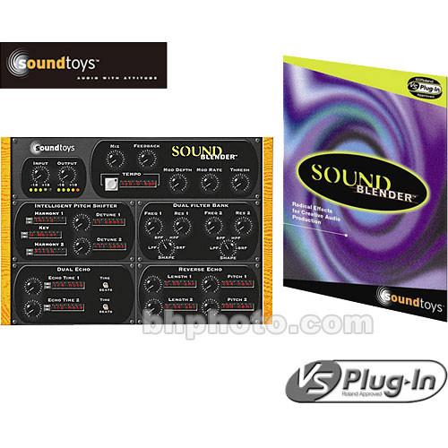 Roland SoundBlender VS  Multi-Effects Plug-In for Roland VS8F-3 Board
