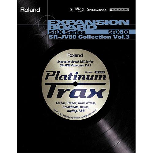 Roland SRX-08 - Platinum Trax Expansion Board