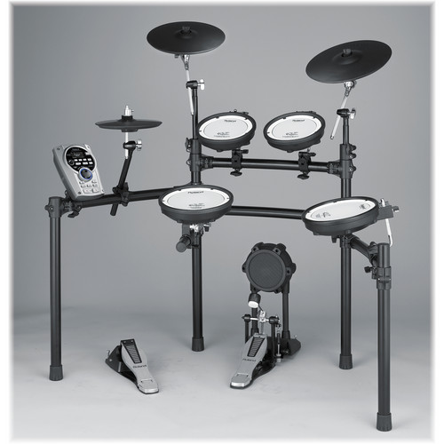 Roland TD-15K V-Tour Series V-Drum Set with MDS-9V Stand