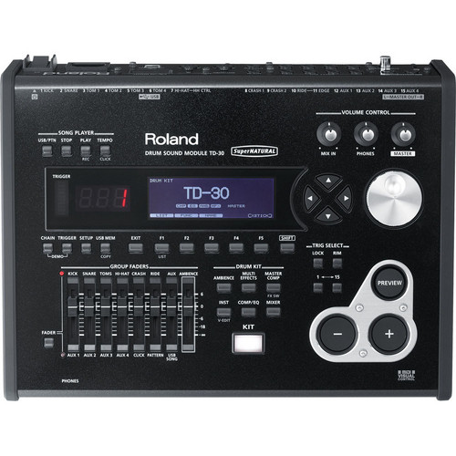 Roland TD-30: Drum Sound Module for V-Drums