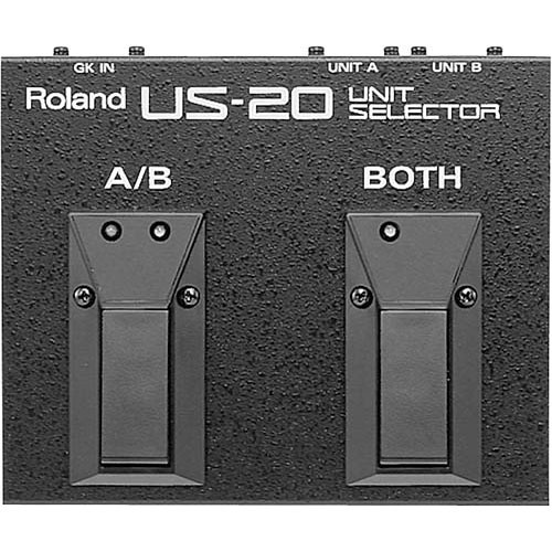 Roland US-20 - Floor Pedal Unit Selector
