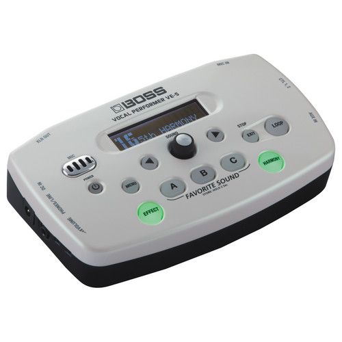 BOSS VE-5 Vocal Performer - Compact Vocal Processor (White)