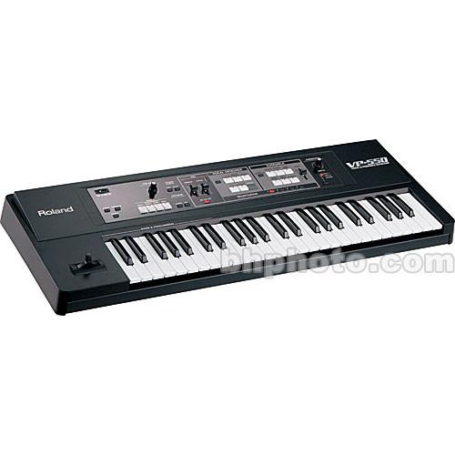 Roland VP-550 - 49-Key Vocal Instrumental Ensemble Arranger Keyboard
