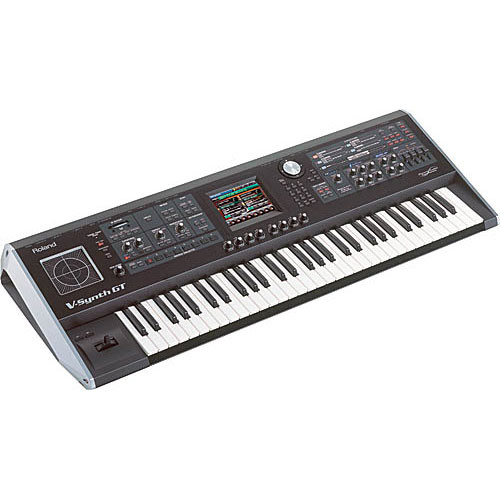 Roland V-Synth GT - 61-Key Elastic Audio Synthesizer Keyboard