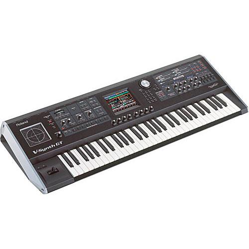 Roland V-Synth GT - 61-Key Elastic Audio Synthesizer Keyboard