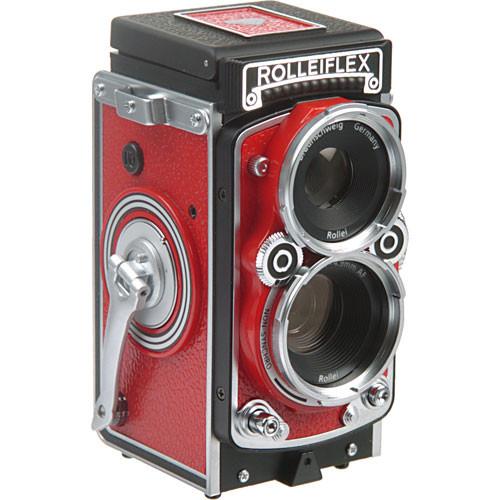 Rollei Rolleiflex MiniDigi AF 5.0 Digital Camera (Red)