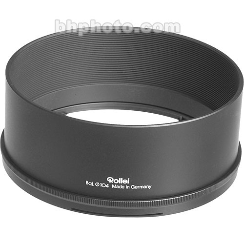 Rollei Bay 104 Lens Hood for 110mm f/2 Planar and 180mm f/2.8 Tele-Xenar