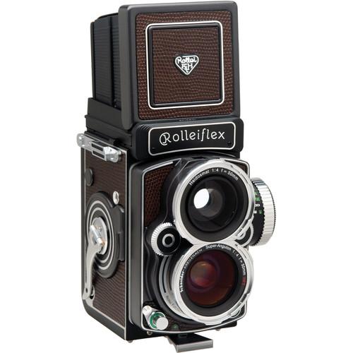 Rollei Rolleiflex 4.0 FW Medium Format Twin Lens Reflex Camera w/Built-in 50mm f/4.0 HFT Lens