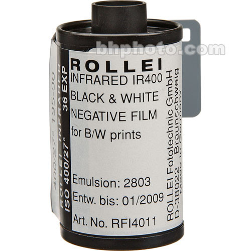 Rollei Infrared 135-36 Black and White Infrared Film-10 Pack