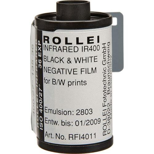 Rollei 135-36 Infrared Black and White Film (Negative) (20 Pack)