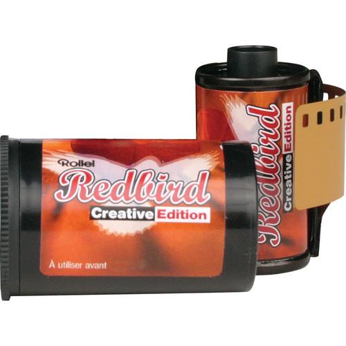 Rollei Redbird 400 Redscale Color Negative Film (35mm Roll Film, 36 Exposure)