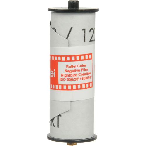 Rollei Nightbird 800 Redscale Color Negative Film (127 Roll Film)