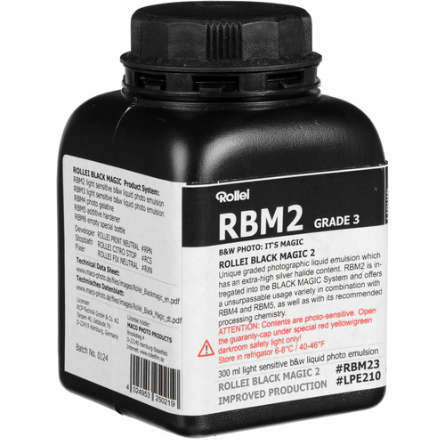 Rollei Black Magic Liquid Emulsion, High Contrast (300ml)