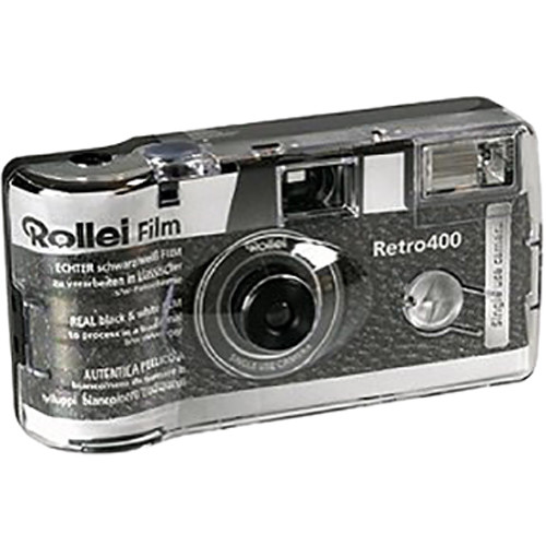 Rollei Retro 400 Single Use Black and White 35mm Camera (27 Exposures)