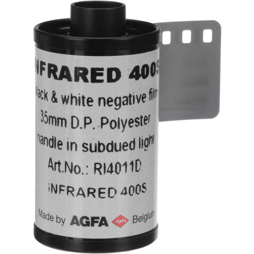Rollei Infrared 400 Black and White Negative Film (35mm Roll Film, 36 Exposures, 2 Pack)